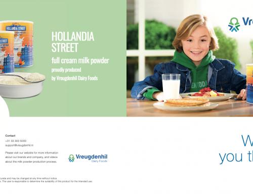 Vormgeving voor Vreugdenhil Dairy Foods