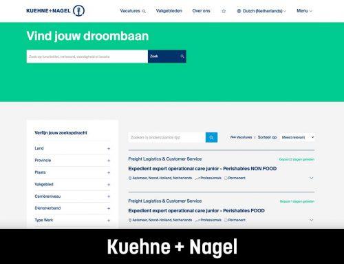 Kuehne + Nagel I Webteksten en social media