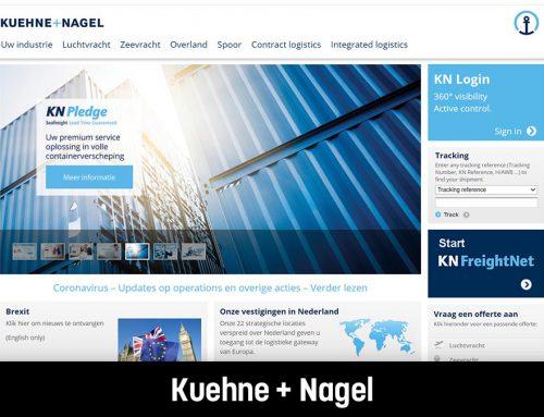 Kuehne + Nagel I Herschrijven webteksten
