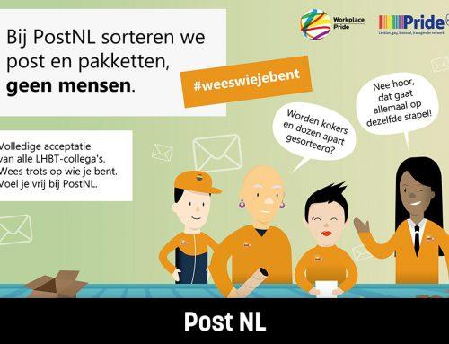 PostNL I Website, T-shirt en poster PostNL Pride