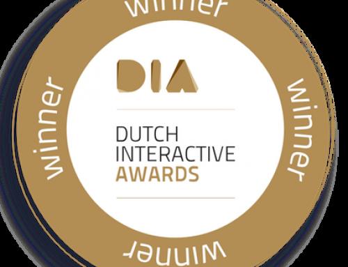 La Plume Media wint een Dutch Interactive Award!